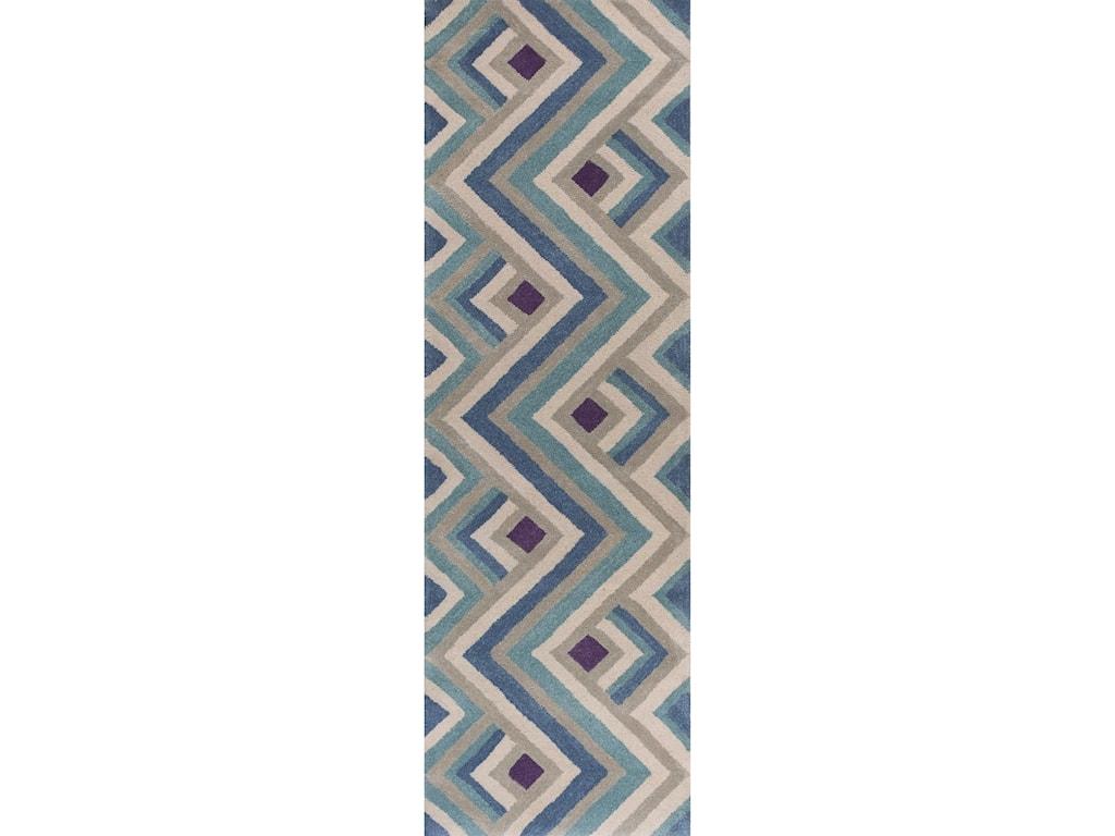 Kas Donny Osmond Home Harmony5' X 8' Ivory/Blue Accents Area Rug