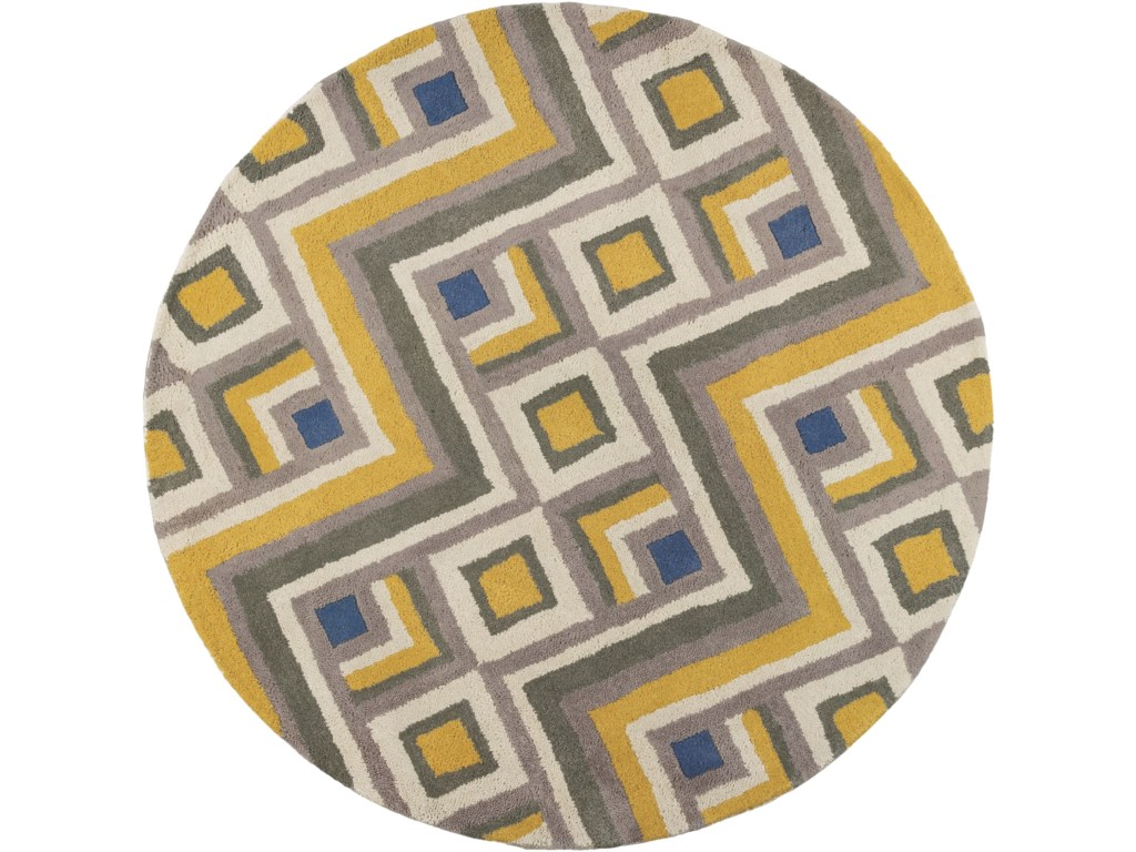 Kas Donny Osmond Home Harmony9' X 13' Gold/Lilac Accents Area Rug