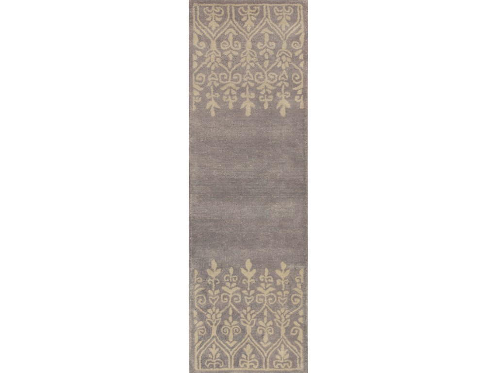 Kas Donny Osmond Home Harmony9' X 13' Grey Traditions Area Rug