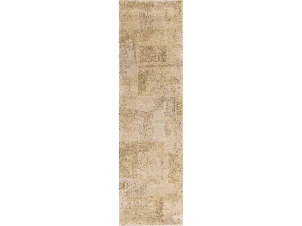 Kas Donny Osmond Home Timeless9' X 13' Champagne Tapestry Area Rug