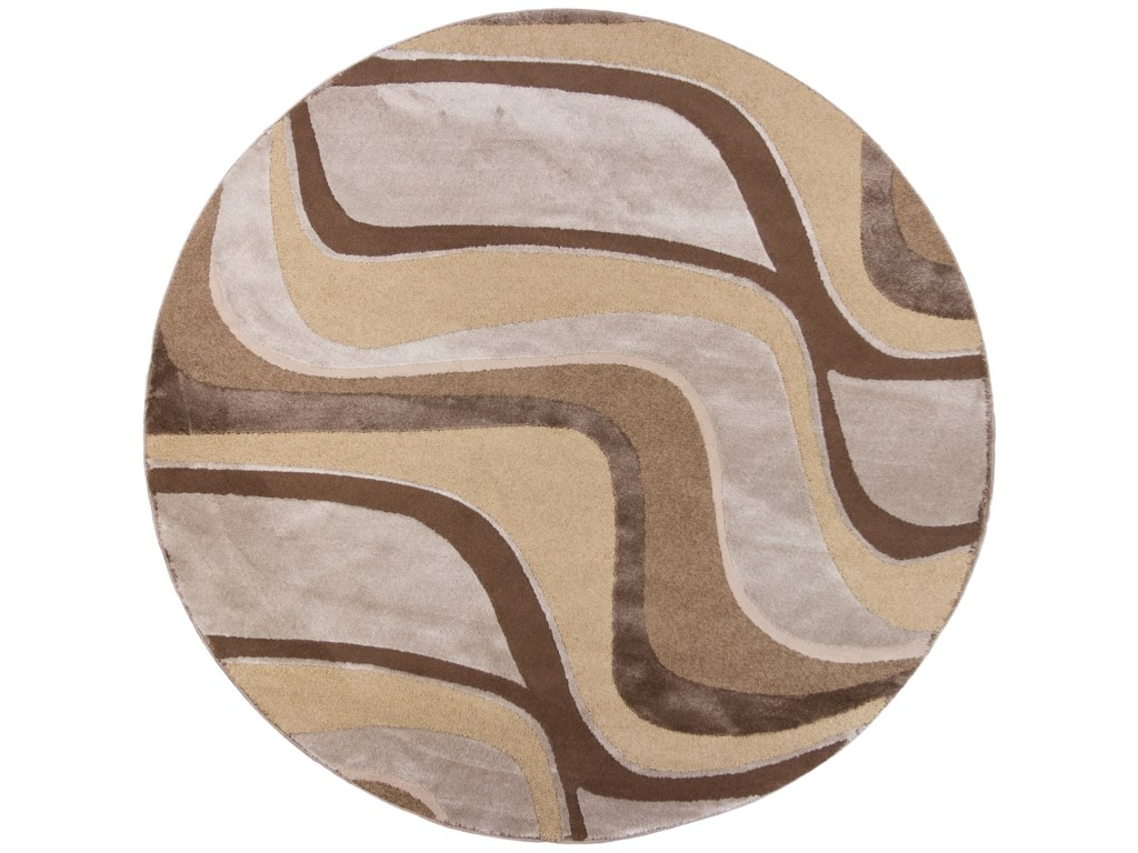 Kas Donny Osmond Home Timeless9' X 13' Metallic Visions Area Rug