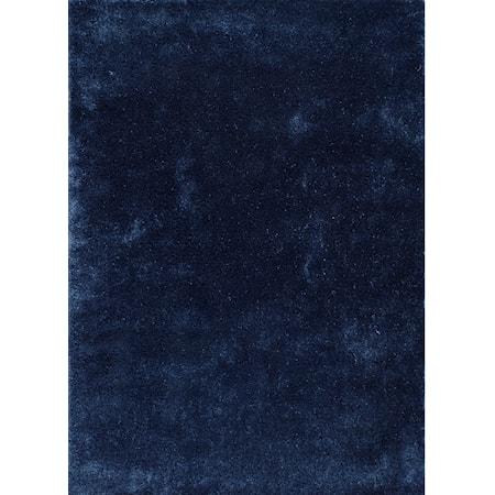 5' X 7' Indigo Blue Area Rug