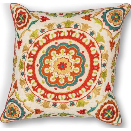 "18"" X 18"" Red Suzani Pillows"