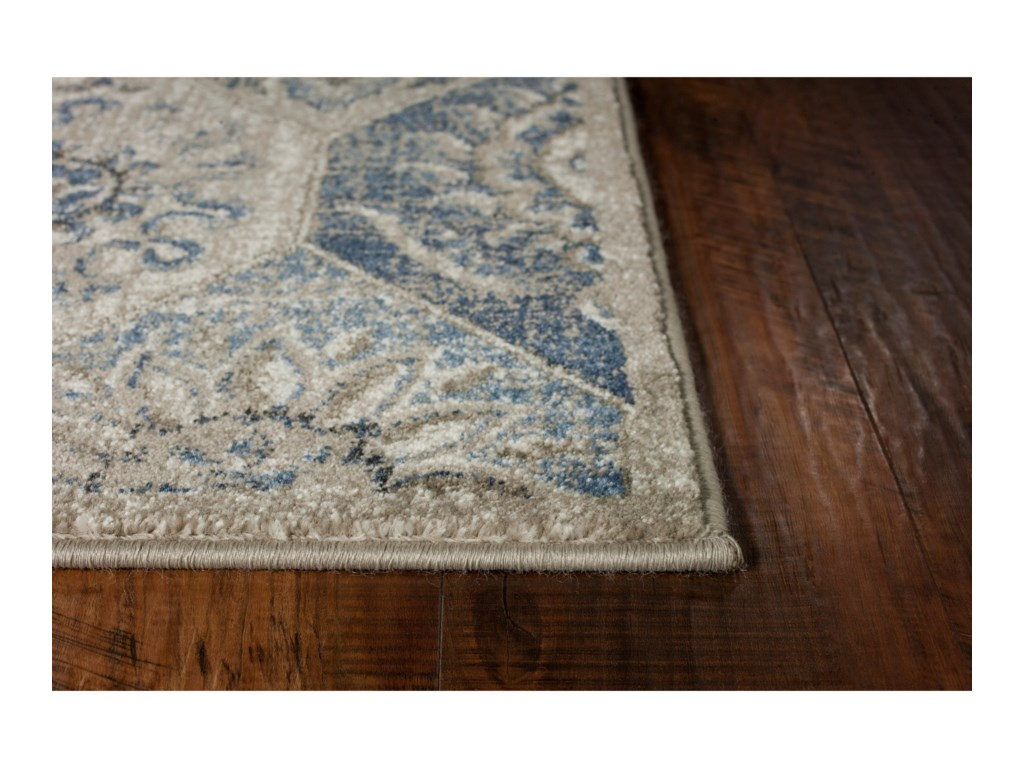 Kas Seville 13 X 9 Pewter Mosaic Area Rug Darvin Furniture Rugs