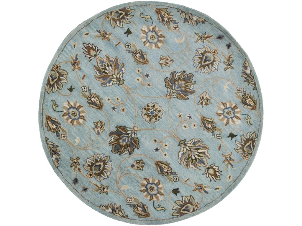 Kas Syriana5' X 8' Blue Allover Kashia Area Rug