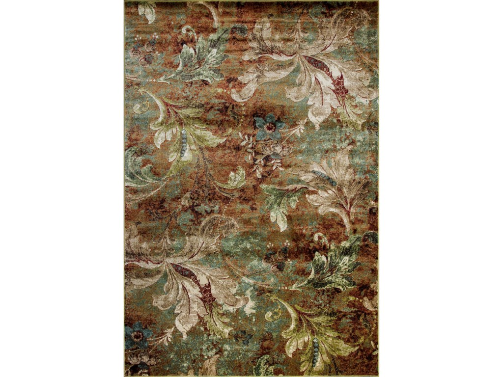Kas Versailles 710 X 112 Multi Heirloom Area Rug Darvin