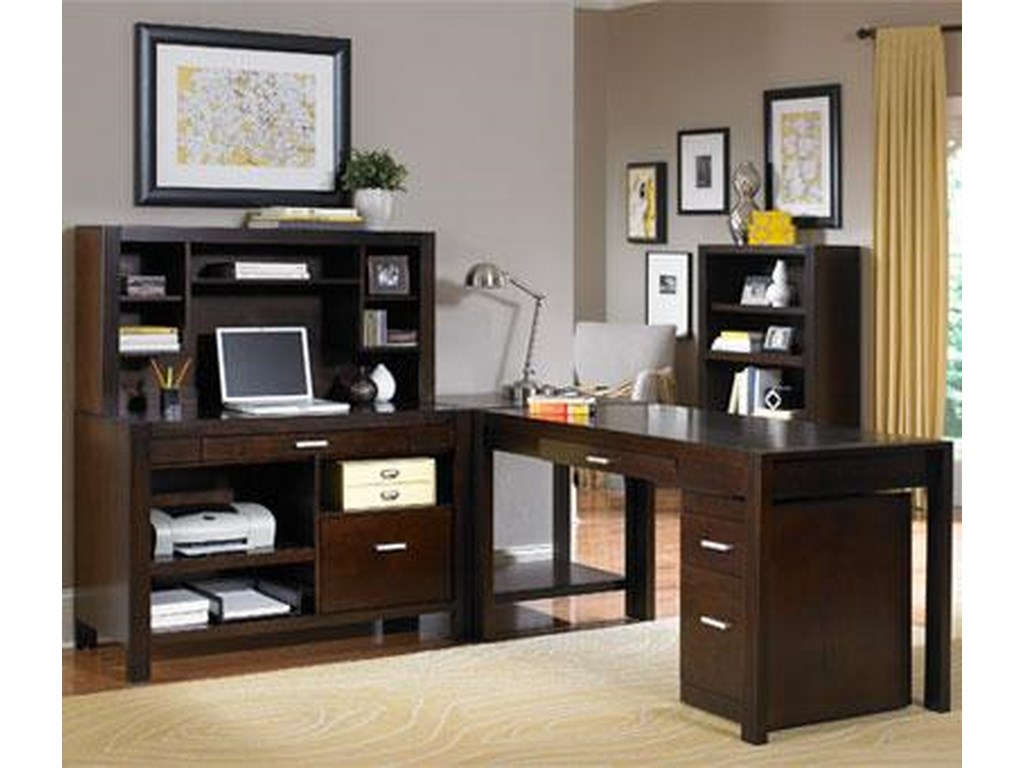 kathy ireland Home by Martin CarltonL Shape Desk