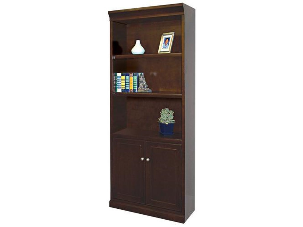 kathy ireland Home by Martin Fulton KIHBookcase with Lower Doors