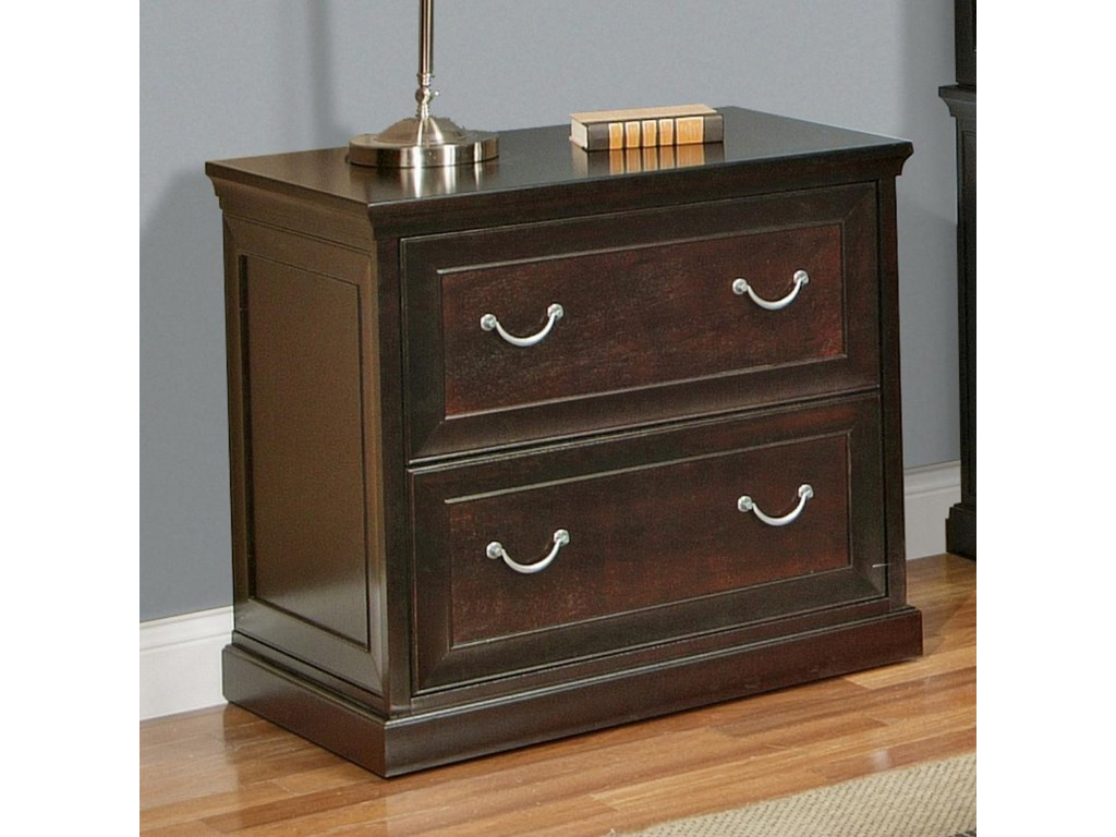 kathy ireland Home by Martin Fulton KIHTwo Drawer Lateral File