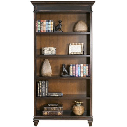 kathy ireland Home by Martin Hartford Bookcase with 5 Shelves