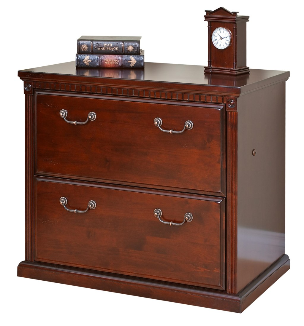 Kathy ireland home by martin huntington clubtwo drawer lateral file cabinet