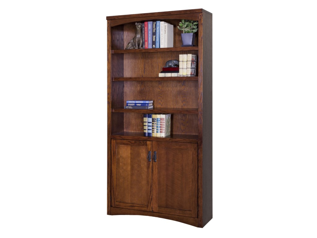 kathy ireland Home by Martin Mission PasadenaLower Door Bookcase