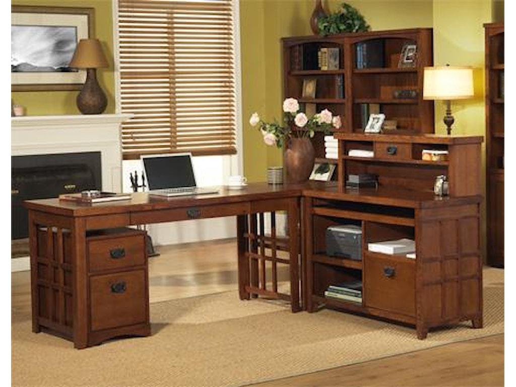 kathy ireland Home by Martin Mission PasadenaLaptop/Writing Desk