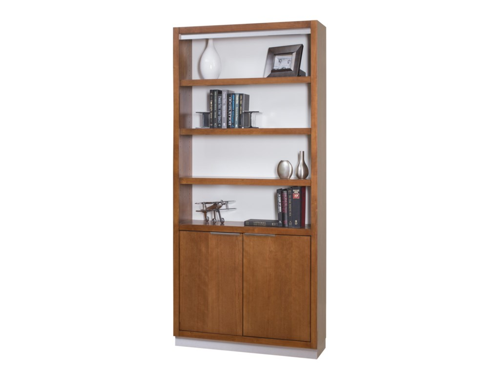 kathy ireland Home by Martin MontereyBookcase with Lower Doors