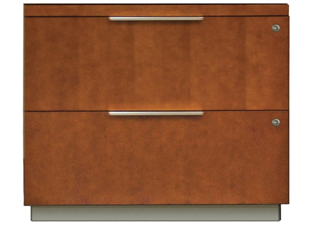 kathy ireland Home by Martin MontereyTwo Drawer Lateral File