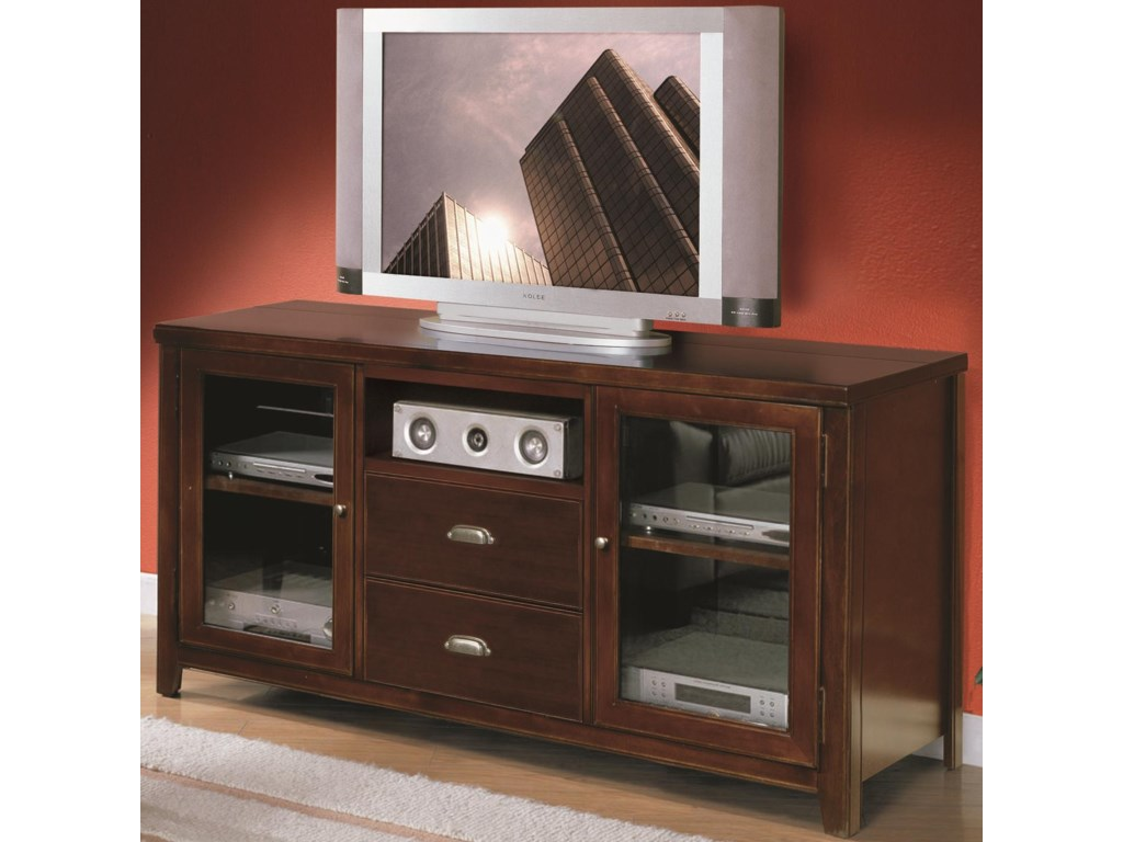 kathy ireland Home by Martin Tribeca LoftTall Console for Flat Panel Television