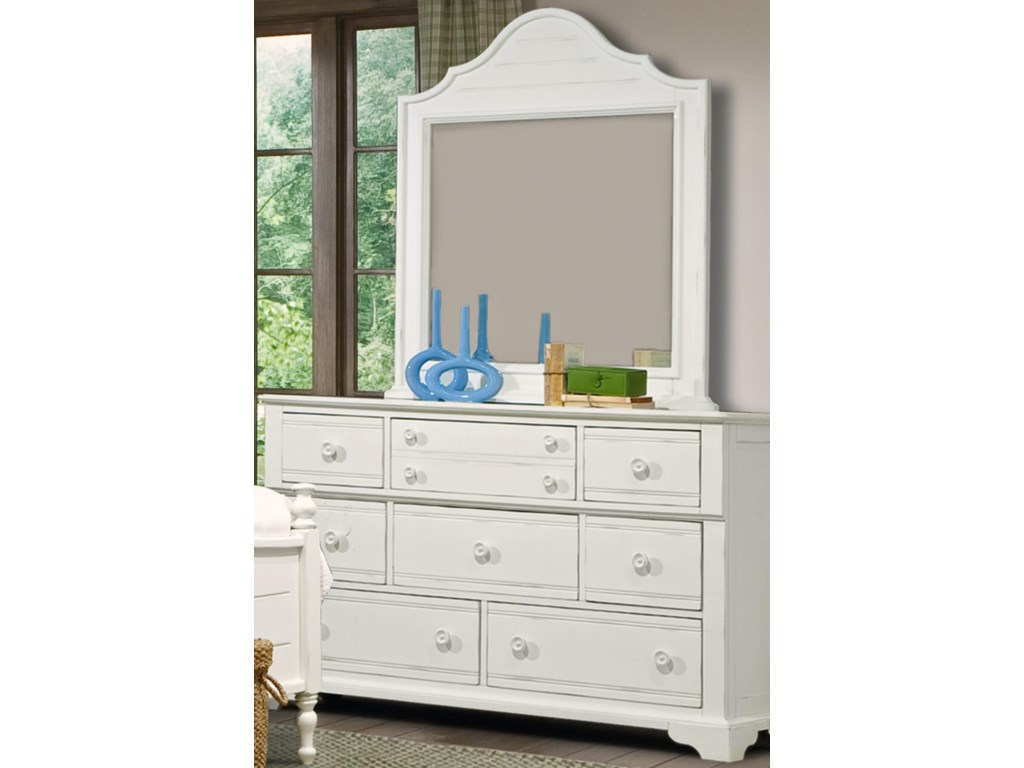 Vaughan Furniture Cottage GroveDresser and Mirror Combo