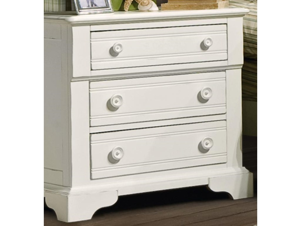 Vaughan Furniture Cottage GroveNightstand with 3 Drawers