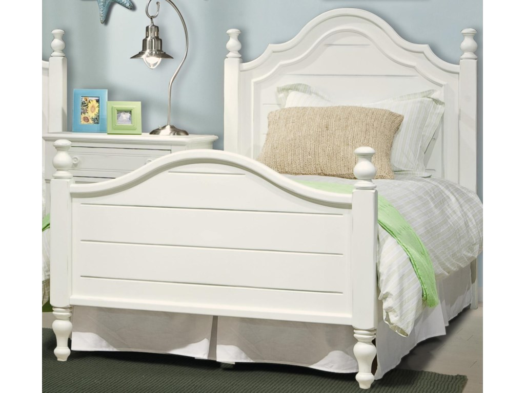 Vaughan Furniture Cottage GroveTwin Poster Bed