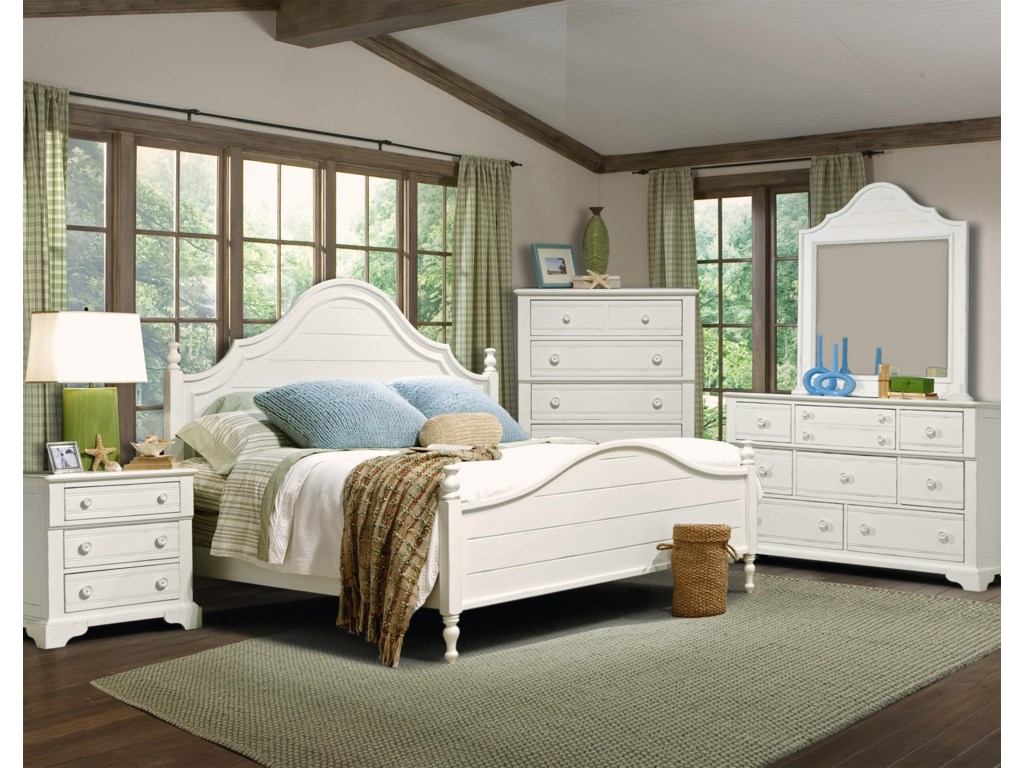 Vaughan Furniture Cottage GroveKing Poster Bed