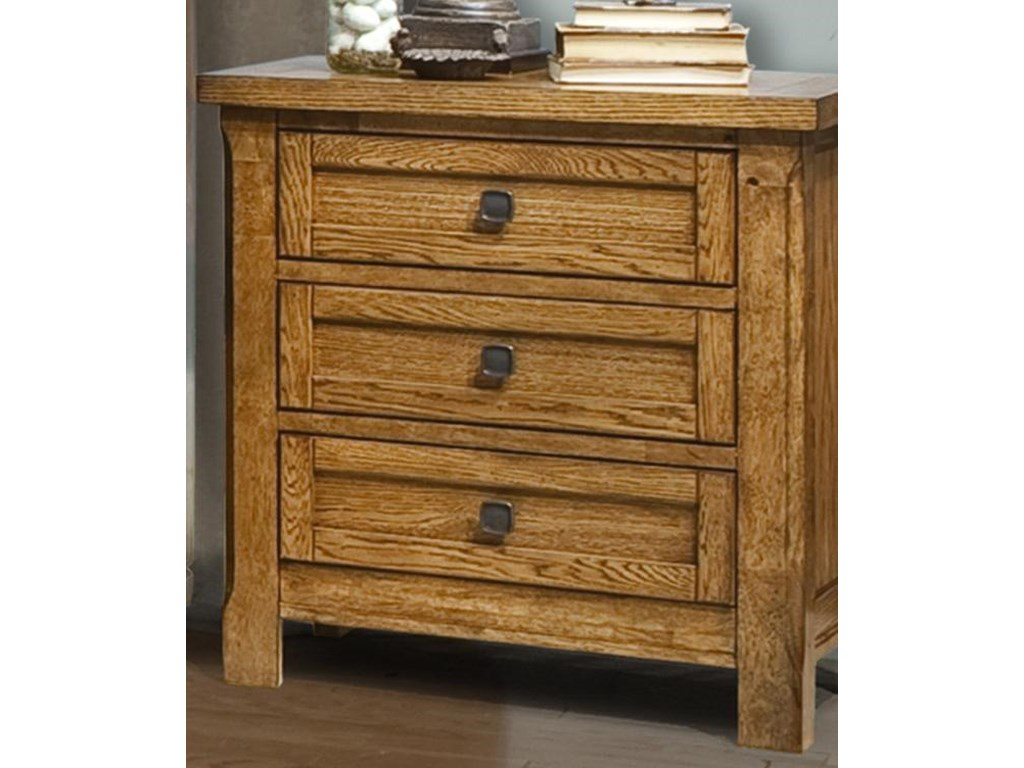Vaughan Furniture RancheroNightstand with 3 Drawers