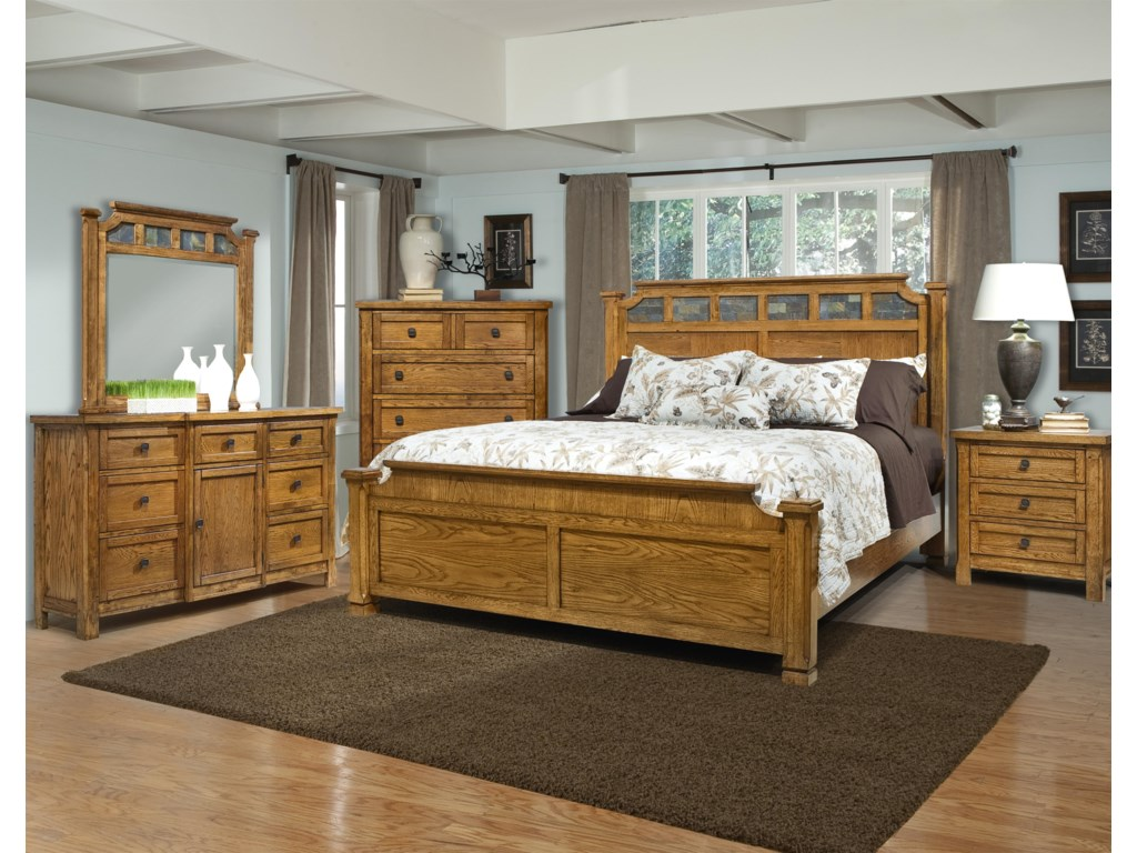 Vaughan Furniture RancheroQueen Bedroom Group