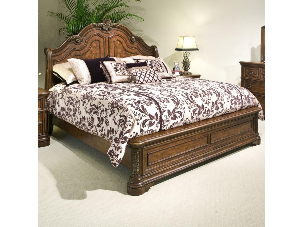 Vaughan Furniture Romantic DreamsQueen Sleigh Bed
