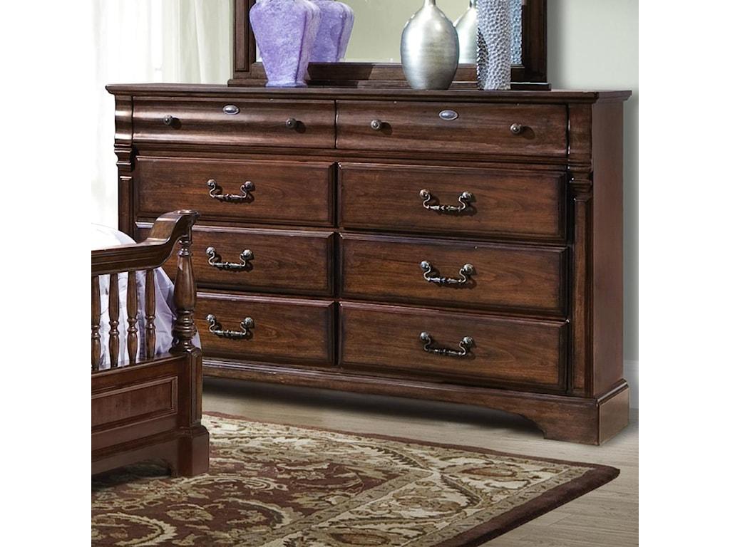 Vaughan Furniture Washington ManorDresser and Mirror