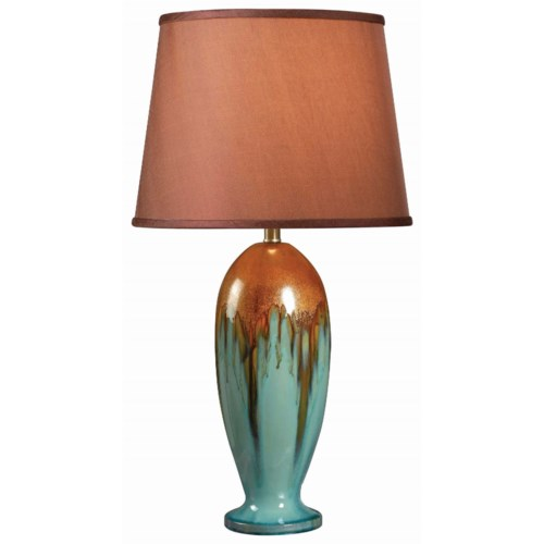 Kenroy home lighting tucson table lamp