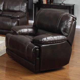 Kian 3490 Glider Recliner Chair W/ Pillow Arms