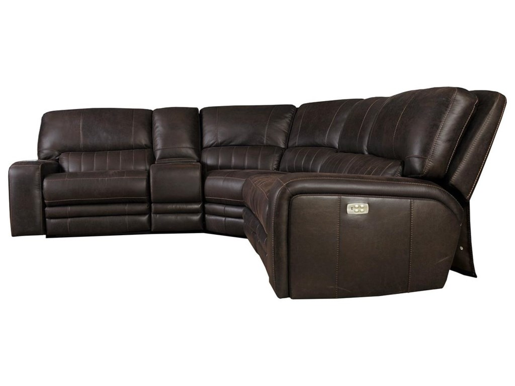 Kian 75-Power Reclining Sectional with Power Headres
