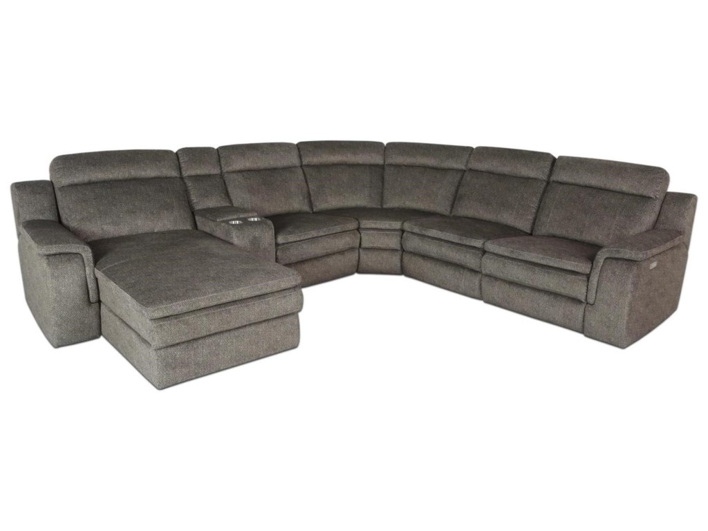 Kian 9800Power Reclining Sectional with Chaise