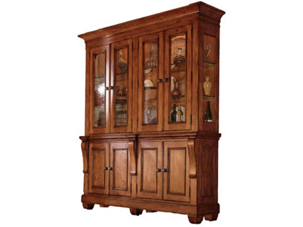 Kincaid Furniture Tuscano2 Piece China Hutch