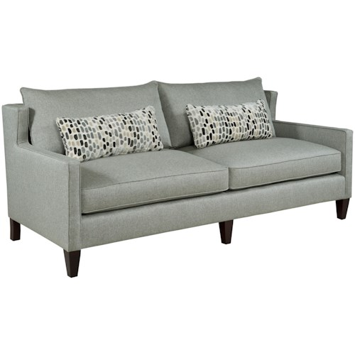 Kincaid Furniture 317 Contemporary Sofa with Thin Track Arms