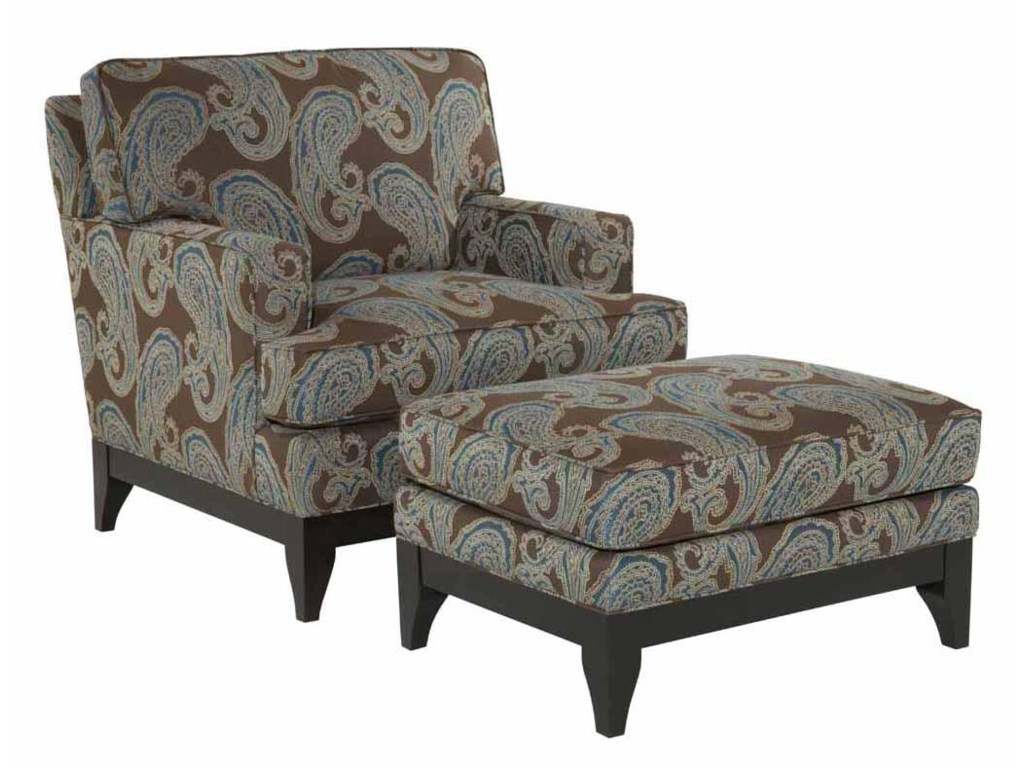 Kincaid Furniture AlstonChair and Ottoman Set