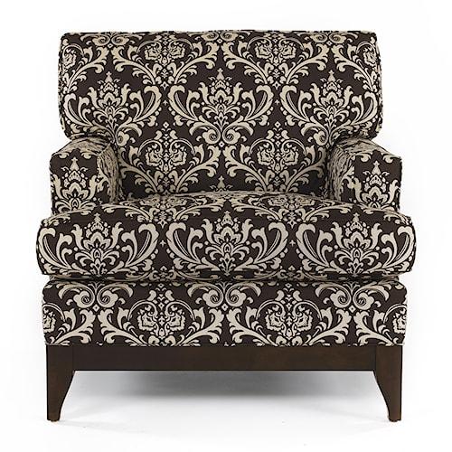 Kincaid Furniture Alston Tapered Wooden Leg Chair