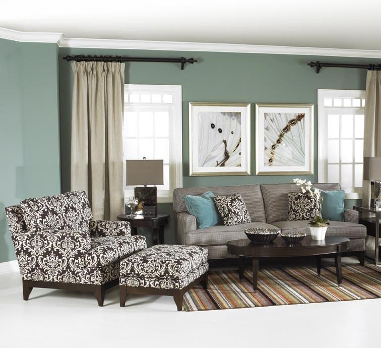 Shown with Coordinating Chair and Ottoman