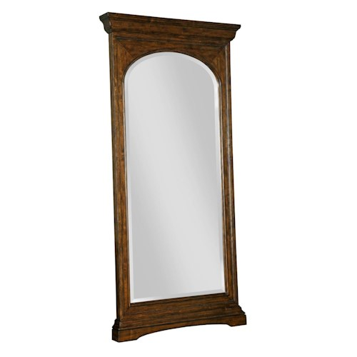 Kincaid Furniture Artisans Shoppe Accents Biseau Floor Mirror