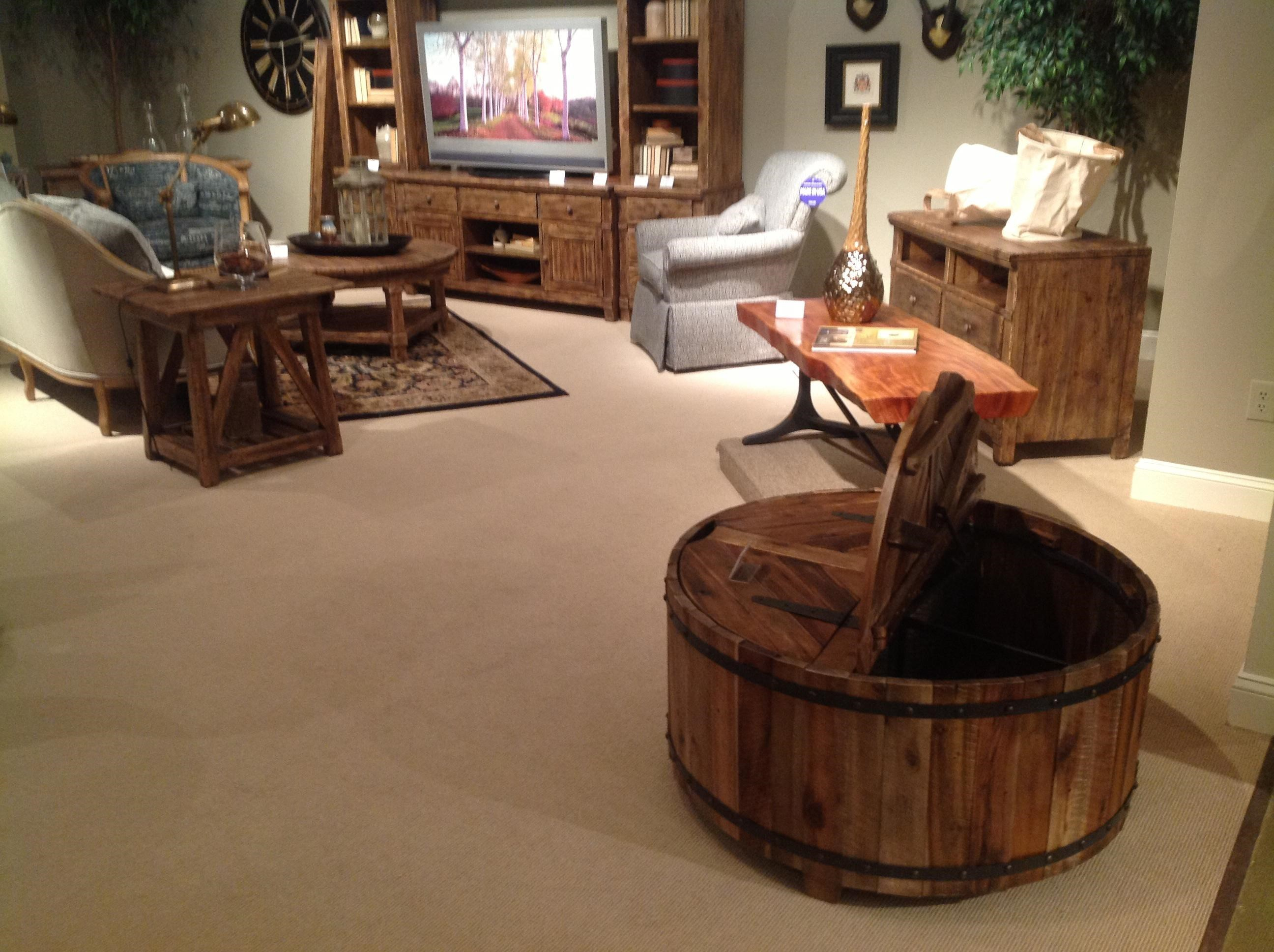 ... Kincaid Furniture Artisans Shoppe AccentsRound Cocktail Table