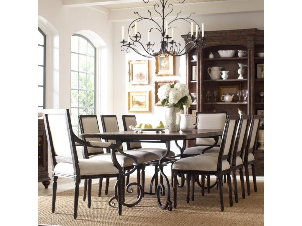 Kincaid Furniture Artisan\'s Shoppe Dining Traditional Nine Piece 94 ...