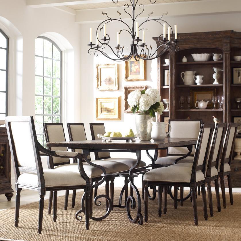 Kincaid Furniture Artisanu0027s Shoppe Dining Traditional Nine Piece 94