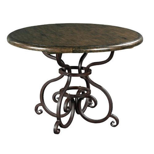Kincaid Furniture Artisan's Shoppe Dining - Black Forest Traditional 44