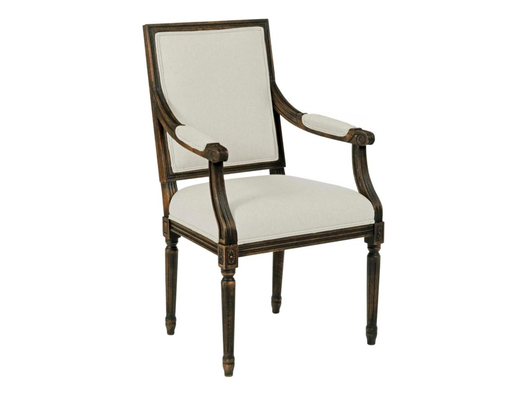 Kincaid Furniture Artisan's Shoppe DiningFrench Dining Arm Chair
