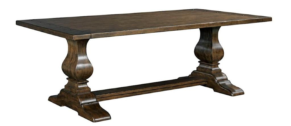 Kincaid Furniture Artisan s Shoppe Dining Traditional 72