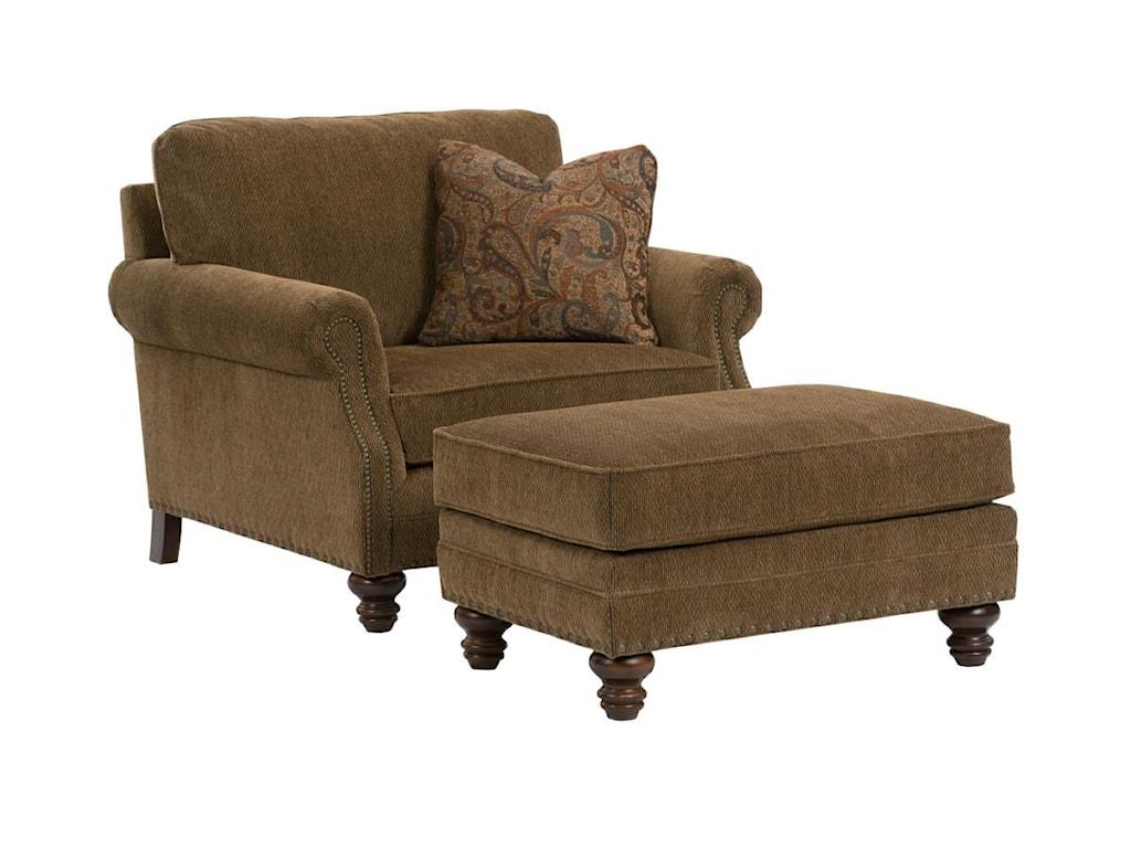 Kincaid Furniture BayhillLarge Ottoman