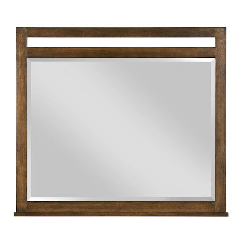 Kincaid Furniture Bedford Park Wheaton Solid Oak Dresser Mirror