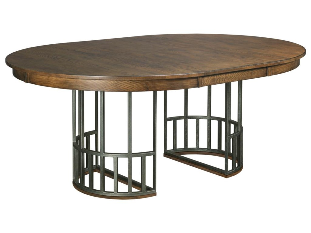 Table Shown with One Extension Leaf