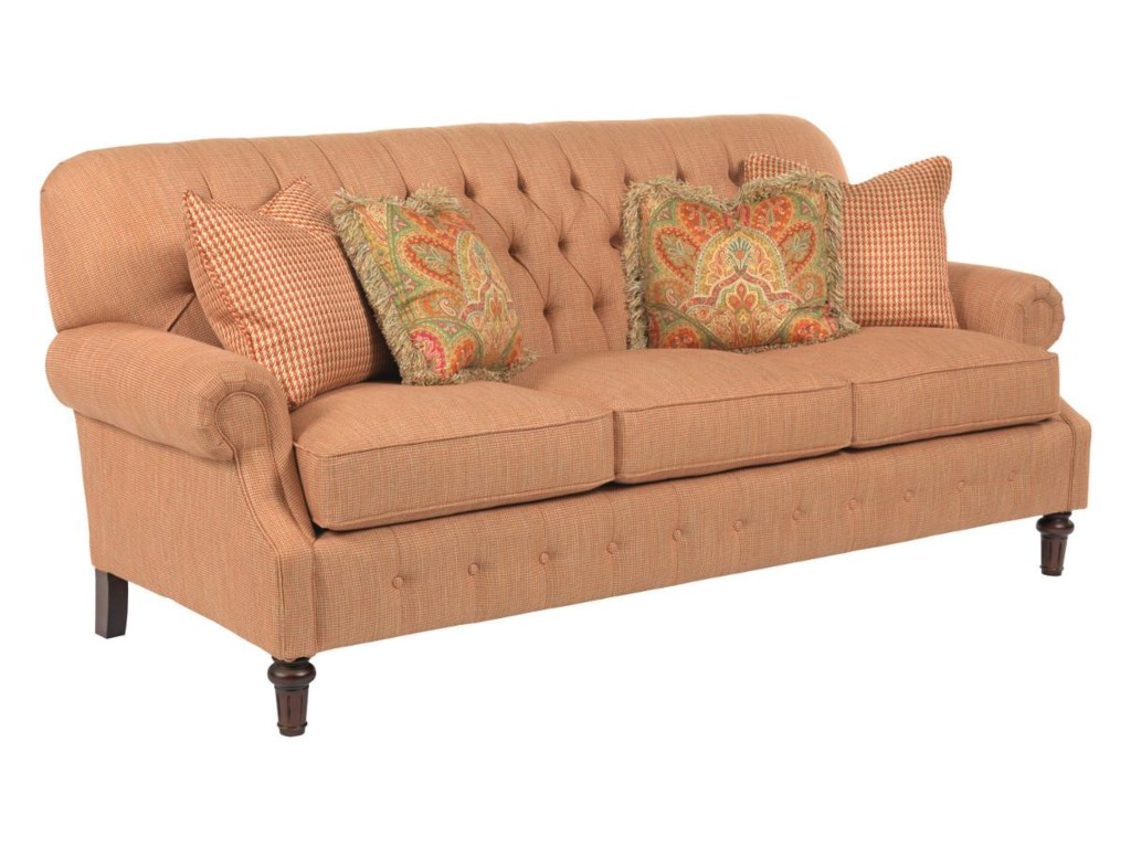 Kincaid Furniture BerkshireElegant Stationary Sofa