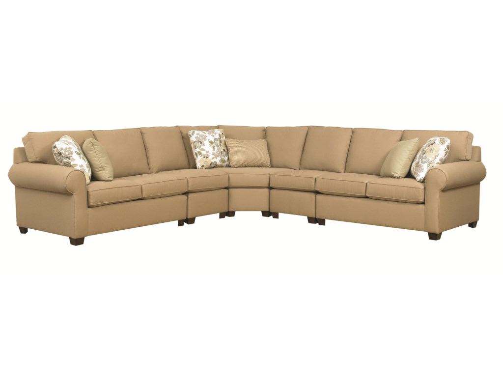 Kincaid Furniture Brannon5 Pc Sectional Sofa