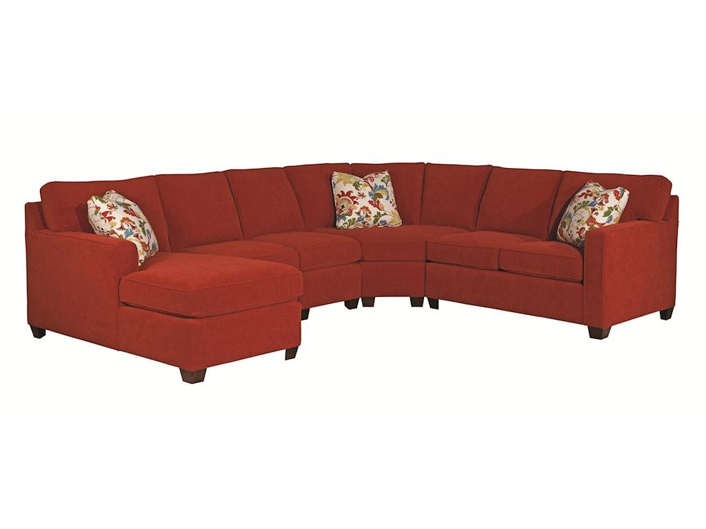 Kincaid Furniture Brooke5 Pc Sectional Sofa